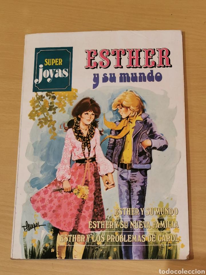 ESTHER Y SU MUNDO SUPER JOYAS Nº 1 BRUGUERA 2ª EDICIÓN 1983 (Tebeos y Comics - Bruguera - Esther)