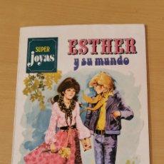 Tebeos: ESTHER Y SU MUNDO SUPER JOYAS Nº 1 BRUGUERA 2ª EDICIÓN 1983. Lote 191527075