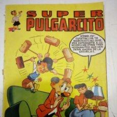 Tebeos: SUPER PULGARCITO Nº 13 - BRUGUERA, MAYO DE 1950 - ORIGINAL - PROCEDE DE ENCUADERNACION. Lote 191539427
