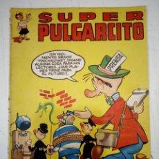 Tebeos: SUPER PULGARCITO Nº 16 - BRUGUERA, AGOSTO DE 1950 - ORIGINAL - PROCEDE DE ENCUADERNACION. Lote 191539545