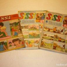 Tebeos: LOTE 3 REVISTAS *SISSI*, REVISTA JUVENIL FEMENINA NºS. 38 - 416 - 422 - BRUGUERA 1966-67. Lote 191574998