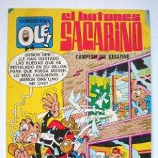 Tebeos: OLÉ. EL BOTONES SACARINO Nº 15. 4ª EDICIÓN BRUGUERA 1980. Lote 191623177