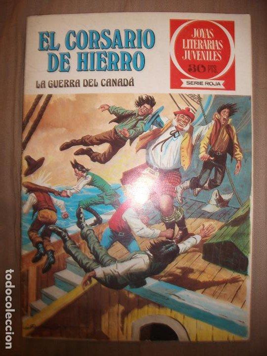 JOYAS LITERARIAS JUVENILES SERIE ROJA EL CORSARIO DE HIERRO29 LA GUERRA DEL CANADA (Tebeos y Comics - Bruguera - Joyas Literarias)