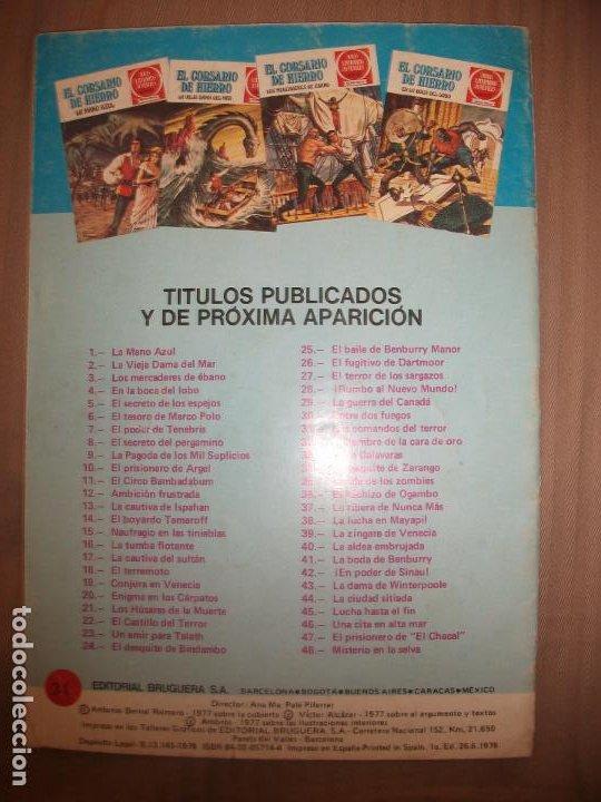 Tebeos: Joyas Literarias Juveniles Serie Roja El corsario de Hierro30 Entre dos fuegos - Foto 2 - 191668097