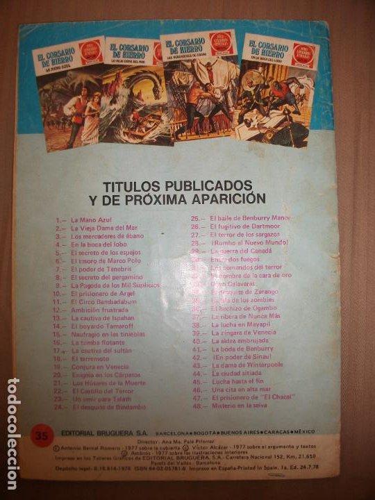 Tebeos: Joyas Literarias Juveniles Serie Roja El corsario de Hierro35 La isla de los zombies - Foto 2 - 191703596
