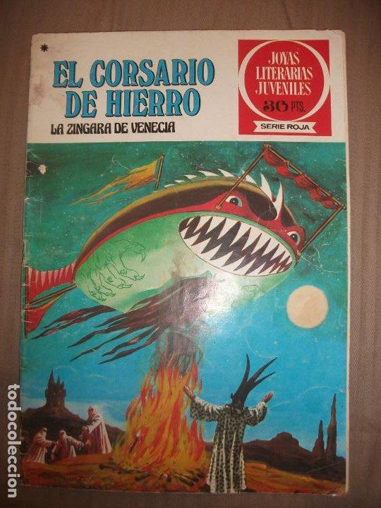 JOYAS LITERARIAS JUVENILES SERIE ROJA EL CORSARIO DE HIERRO39 LA ZINGARA DE VENECIA (Tebeos y Comics - Bruguera - Joyas Literarias)