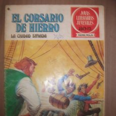 Tebeos: JOYAS LITERARIAS JUVENILES SERIE ROJA EL CORSARIO DE HIERRO44 LA CIUDAD SITIADA B. Lote 191704348