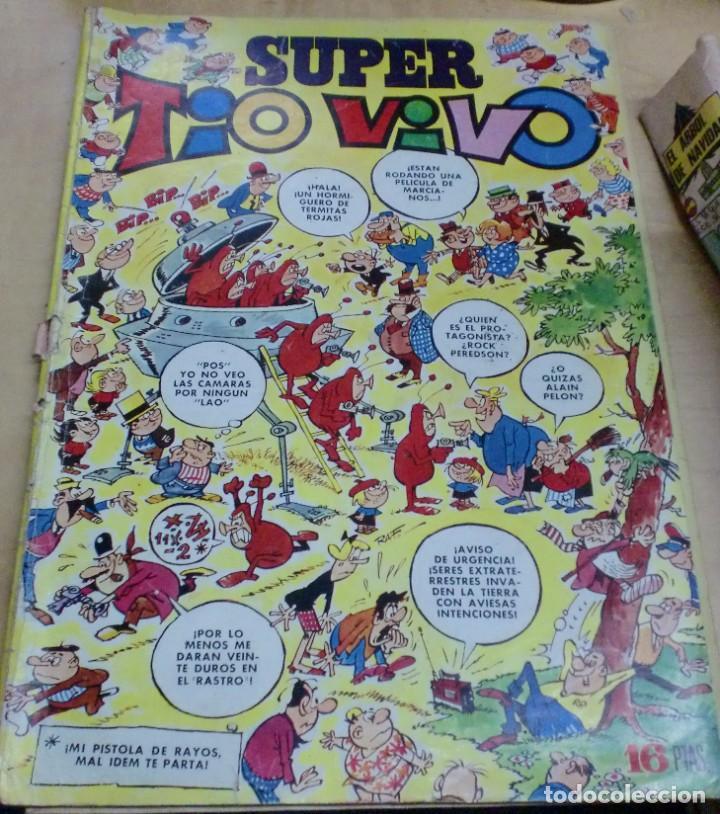 SUPER TÍO VIVO AÑO XIV Nº 12 23 ABRIL 1973 (Tebeos y Comics - Bruguera - Tio Vivo)