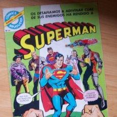 Tebeos: SUPERMAN Nº 17- ¡DEMASIADOS CRIMINALES! (BRUGUERA SUPER-ACCION, Nº 61, 1979) DC COMICS. Lote 191749801