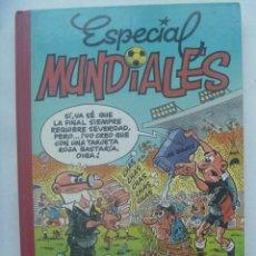 Tebeos: ALBUM DE SUPER MORTADELO : ESPECIAL MUNDIALES. DE IBAÑEZ, 1993. Lote 191762778