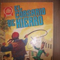 Tebeos: JOYAS LITERARIAS JUVENILES SERIE ROJA EL CORSARIO DE HIERRO58 RESCATE PELIGROSO. Lote 191783525