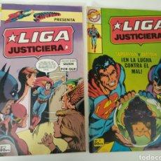 Tebeos: LIGA DE LA JUSTICIA NÚMEROS 2 Y 3. Lote 191787123
