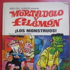 Tebeos: TEBEO MORTADELO Y FILEMON, ¡LOS MONSTRUOS! Nº 25 F. IBAÑEZ 1973 ED. BRUGUERA. Lote 191797360