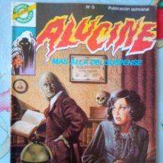 Tebeos: ALUCINE- COMICS BRUGUERA- Nº 9 -ESCOLANO-TORRENTE-TOMÁS MARCO-1985-CORRECTO-DIFÍCIL-LEAN-3454. Lote 206539557
