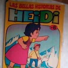 Tebeos: LAS BELLAS HISTORIAS DE HEIDI -Nº 6 - GRAN TRABAJO DE JAN- 1975-MUY DIFÍCIL-BUENO- ESCASO-LEAN- 2955. Lote 191820087