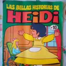Tebeos: LAS BELLAS HISTORIAS DE HEIDI- Nº 10 -GRAN TRABAJO DE JAN-1975-MUY DIFÍCIL-BUENO-LEAN-2957. Lote 191823553