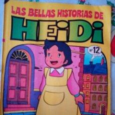 Tebeos: LAS BELLAS HISTORIAS DE HEIDI- Nº 12 -GRAN TRABAJO DE JAN-1975-MUY DIFÍCIL-BUENO-LEAN-2959. Lote 191825237