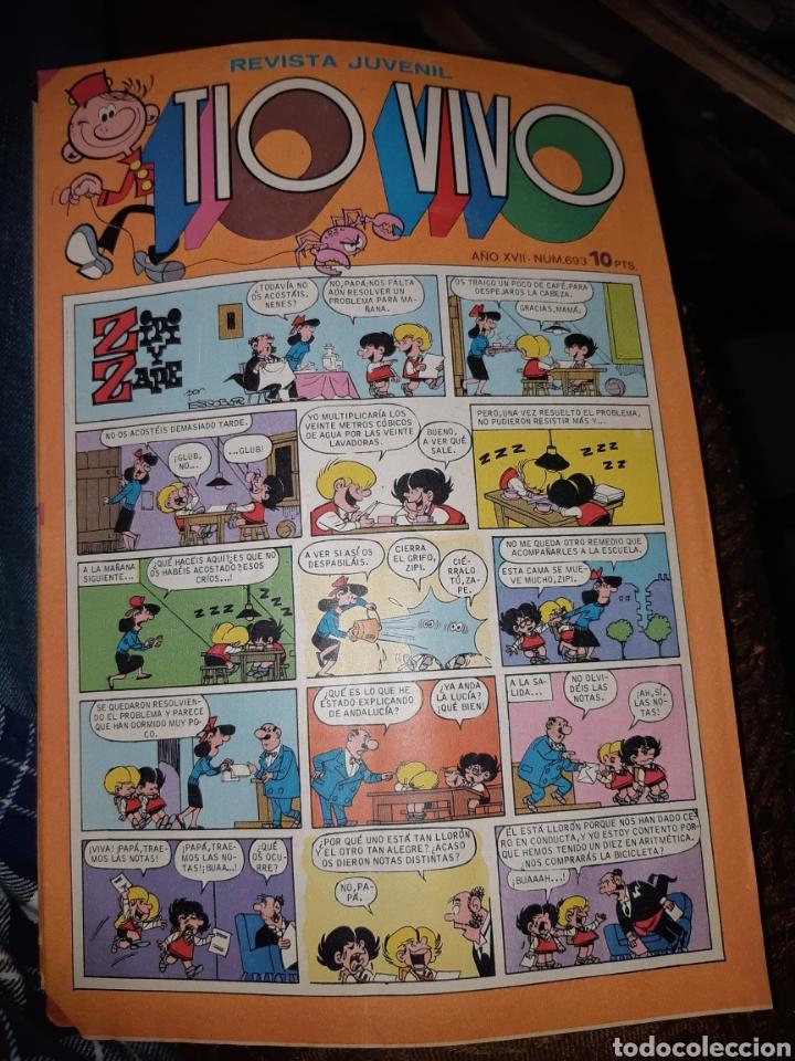 TEBEOS COMICS CANDY - TIO VIVO 693 - BRUGUERA - AA97 (Tebeos y Comics - Bruguera - Tio Vivo)