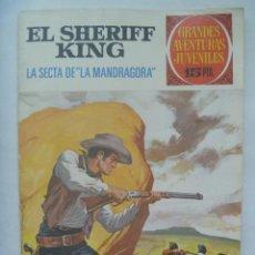 Tebeos: EL SHERIFF KING Nº 30 : LA SECTA DE LA ¨ MANDRAGORA ¨ . Lote 191864063