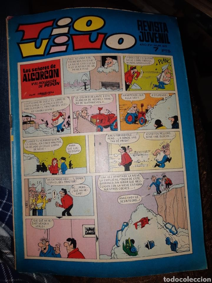 TEBEOS COMICS CANDY - TIO VIVO 615 - BRUGUERA - AA97 (Tebeos y Comics - Bruguera - Tio Vivo)