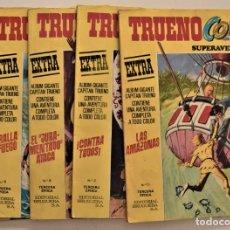 Tebeos: LOTE 5 TOMOS TRUENO COLOR EXTRA Nº 5, 6, 7, 8 Y 11 - ALBUM GIGANTE - TERCERA ÉPOCA. Lote 191900970