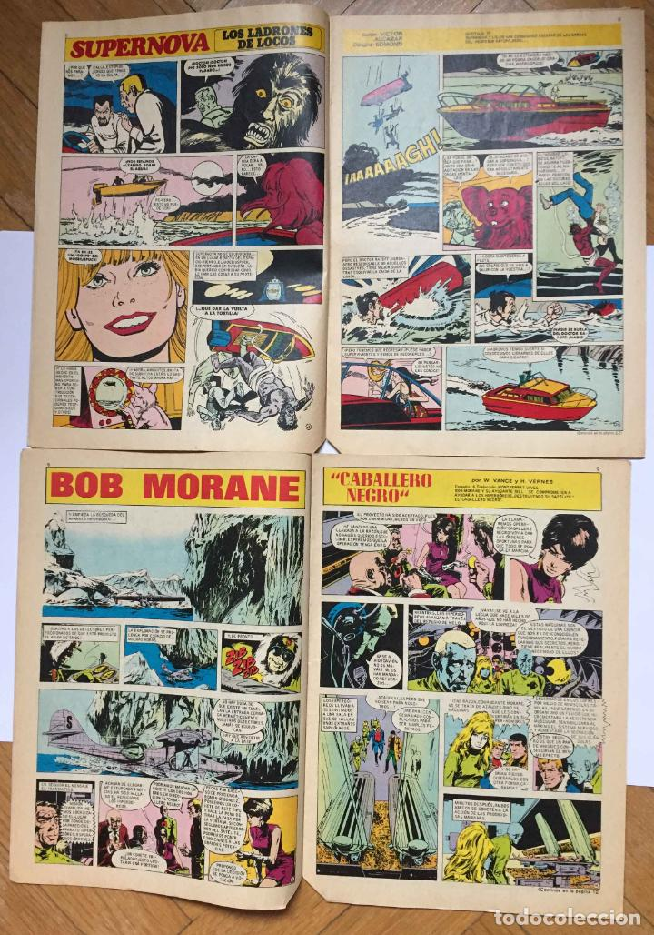 Tebeos: Lote 2 tebeos: DIN DAN. Nº 286 y 310 (Bruguera, 1973-74) 1ª Edición. Originales - Foto 6 - 191927395