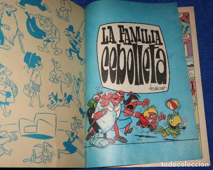 Tebeos: La familia Cebolleta - Numerado en lomo nº 4 - ¡Problemas por doquier! Ole (1977) - Foto 2 - 191937266