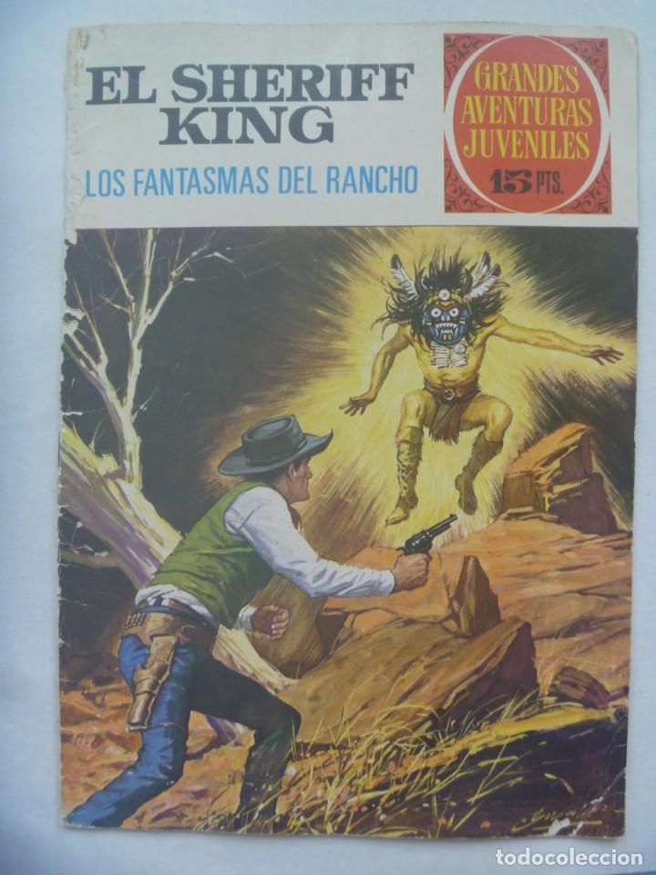 EL SHERIFF KING Nº 10: LOS FANTASMAS EL RANCHO (Tebeos y Comics - Bruguera - Sheriff King)