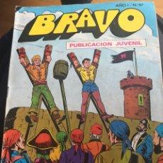 Tebeos: BRAVO EL CACHORRO 24. Lote 191955453