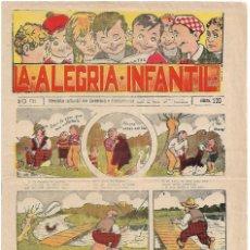 Tebeos: LA ALEGRIA INFANTIL-BRUGUERA 1930 Nº 120 DE 20 CTS MUY BUEN ESTADO.- LEER Y VER FOTOS. Lote 191971722