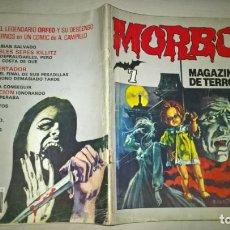 Tebeos: COMIC: MORBO Nº 7. MAGAZINE DE TERROR. Lote 191977211