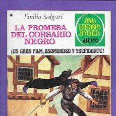 Tebeos: JOYAS LITERARIAS JUVENILES NUMERO 183 LA PROMESA DEL CORSARIO NEGRO. Lote 192018018