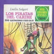 Tebeos: JOYAS LITERARIAS JUVENILES NUMERO 171 LOS PIRATAS DEL CARIBE. Lote 192029928