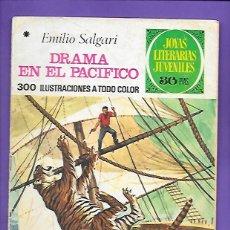 Tebeos: JOYAS LITERARIAS JUVENILES NUMERO 162 DRAMA EN EL PACIFICO. Lote 192071335