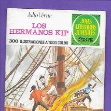 Tebeos: JOYAS LITERARIAS JUVENILES NUMERO 158 LOS HERMANOS KIP. Lote 192075227