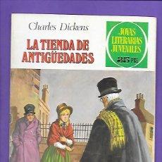 Tebeos: JOYAS LITERARIAS JUVENILES NUMERO 154 LA TIENDA DE ANTIGÜEDADES. Lote 192079865