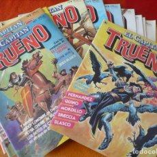 Tebeos: EL CAPITAN TRUENO NºS 1, 2, 3, 4, 5, 6, 7, 8, 9, 10, 11 Y 12 ( MORA BLASCO ) ¡BUEN ESTADO! BRUGUERA. Lote 192152146