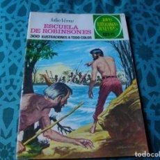 Tebeos: COLECCION JOYAS LITERARIAS . ESCUELA DE ROBINSONES Nº 108 .VER FOTO QUE NO TE FALTE EN TU COLECCION. Lote 192223896
