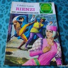 Tebeos: COLECCION JOYAS LITERARIAS . RIENZI . Nº 111 VER FOTO QUE NO TE FALTE EN TU COLECCION. Lote 192224743