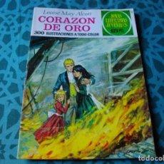 Tebeos: COLECCION JOYAS LITERARIAS . CORAZON DE ORO Nº 112 .VER FOTO QUE NO TE FALTE EN TU COLECCION. Lote 192225012