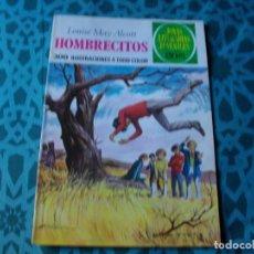 Tebeos: COLECCION JOYAS LITERARIAS . HOMBRECITOS Nº 127 .VER FOTO QUE NO TE FALTE EN TU COLECCION. Lote 192227033