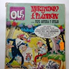 Tebeos: MORTADELO Y FILEMON CON PEPE GOTERA Y OTILIO. Lote 192365501