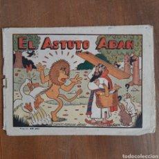 Tebeos: EL ASTUTO ADÁN / CUENTO POPULAR ÁRABE / BRUGUERA AÑOS 1940. Lote 192484481