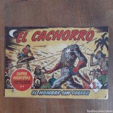 Tebeos: EL CACHORRO / EL HOMBRE SIN CABEZA / NUM. 9 / BRUGUERA AÑO 1953. Lote 192493532