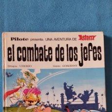 Tebeos: ASTERIX - EL COMBATE DE LOS JEFES. PILOTE. EDIT. BRUGUERA. IMPRESO EN 1969. Lote 218667120