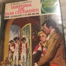 Tebeos: LIBRO HISTORIA DE DOS CIUDADES 300 ILUSTRACIONES. Lote 192599678