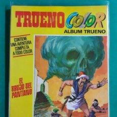 Tebeos: TRUENO COLOR EXTRA Nº 4 ALBUM AMARILLO 1ª- ÉPOCA EXCELENTE ESTADO. Lote 192629580