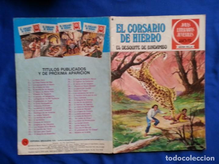 EL DESQUITE DE BINDAMBO - EL COSARIO DE HIERRO 24 (Tebeos y Comics - Bruguera - Corsario de Hierro)