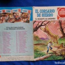 Tebeos: EL DESQUITE DE BINDAMBO - EL COSARIO DE HIERRO 24. Lote 192659518