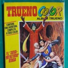 Tebeos: TRUENO COLOR EXTRA Nº 8 ALBUM AMARILLO 1ª ÉPOCA EXCELENTE ESTADO. Lote 192661581